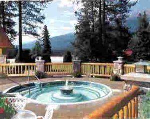 Hot pool at Alpine Village Jasper