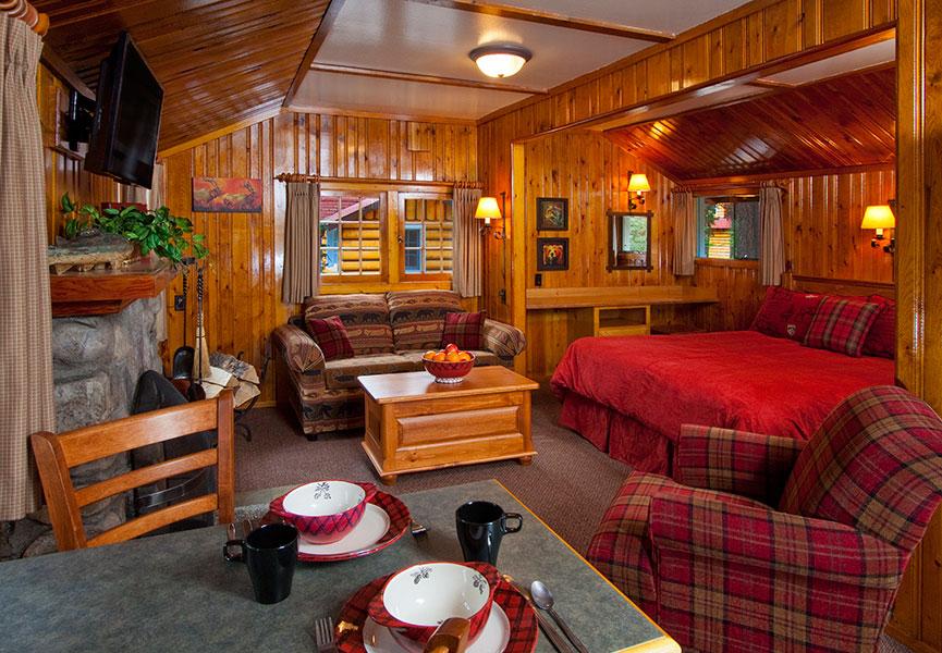 Alpine Village Cabin Resort Jasper Jasper Cabin Accommodation Alpine Village Jasper