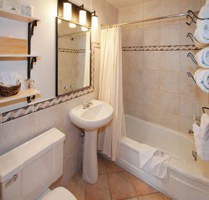Bathroom of Heritage Sleeping Cabin